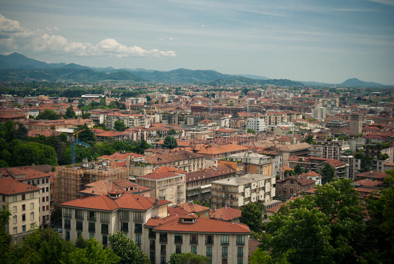 Download View Over The Roofs Royalty Free Stock Image - Image: 27053816