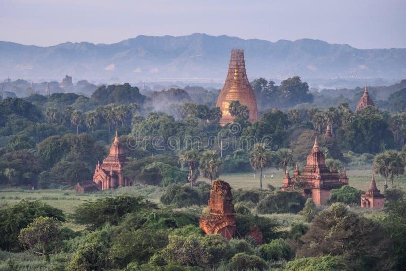 Bagan temple ruins stock photo