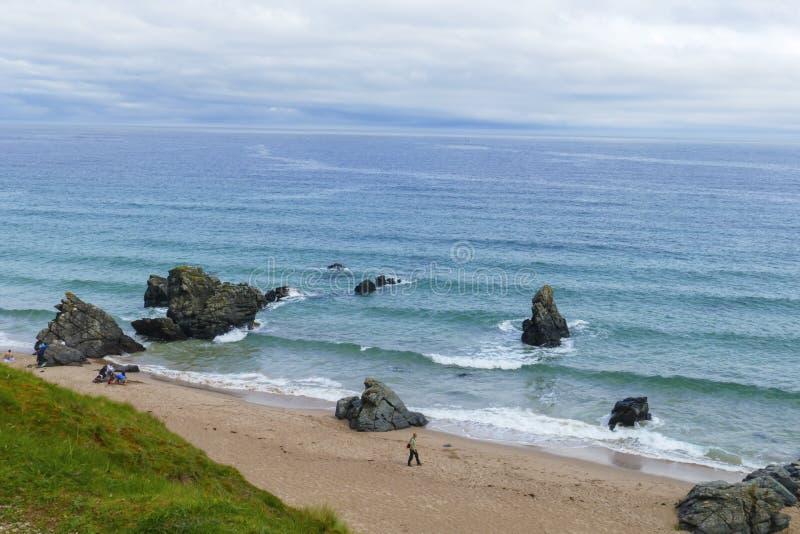 Sandy Beach In The Bolata Bay Near Cape Kaliakr In