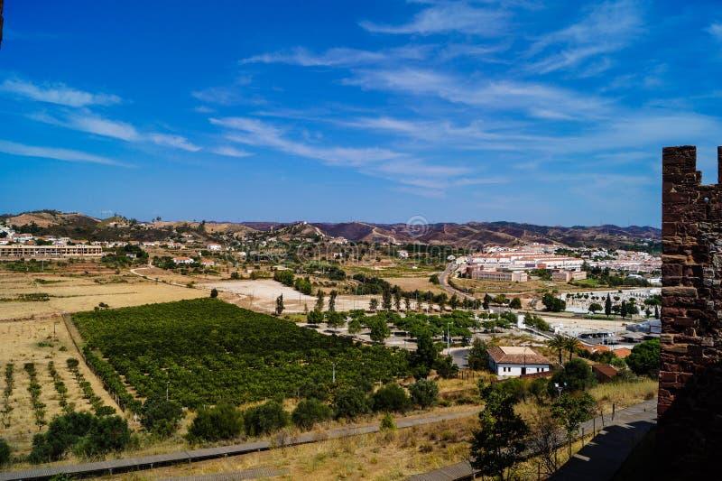 Silves Algarve Portugal stock images