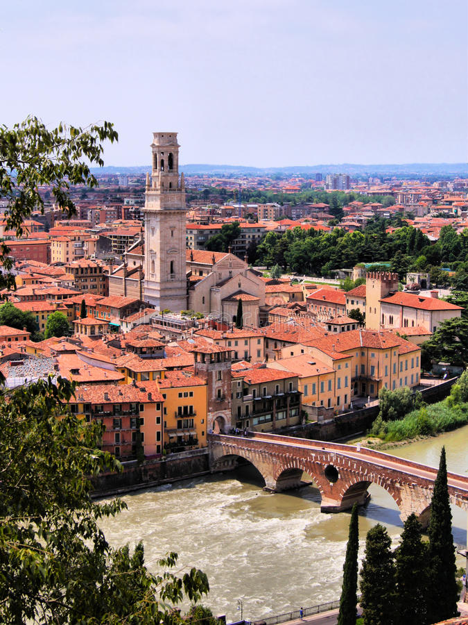 Free View Over Verona Royalty Free Stock Images - 29080449