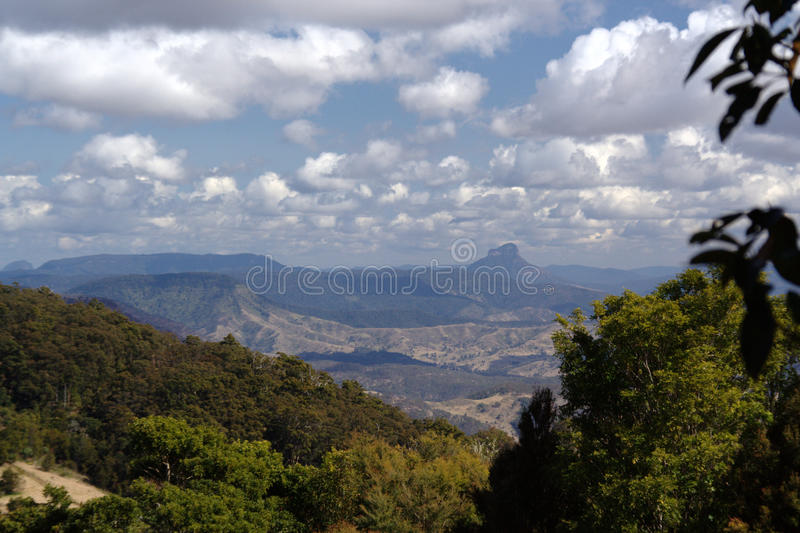 View over West Canungra Creek Circuit stock photos