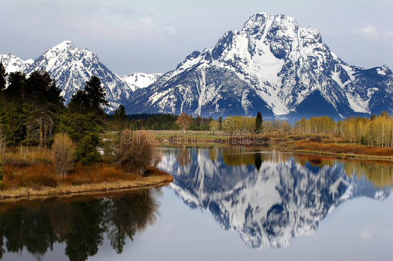 The View from Oxbow Bend royalty free stock photo