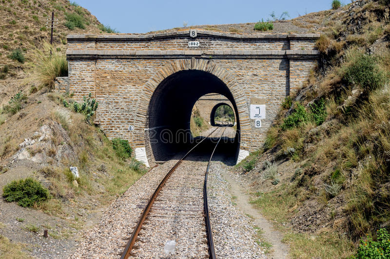 View of Pakistan railway line bridge no: 8 Nowshera to swabi mad. Nowshera, PAKISTAN - Sept 27: view of Pakistan railway line bridge no: 8 Nowshera to swabi made stock images