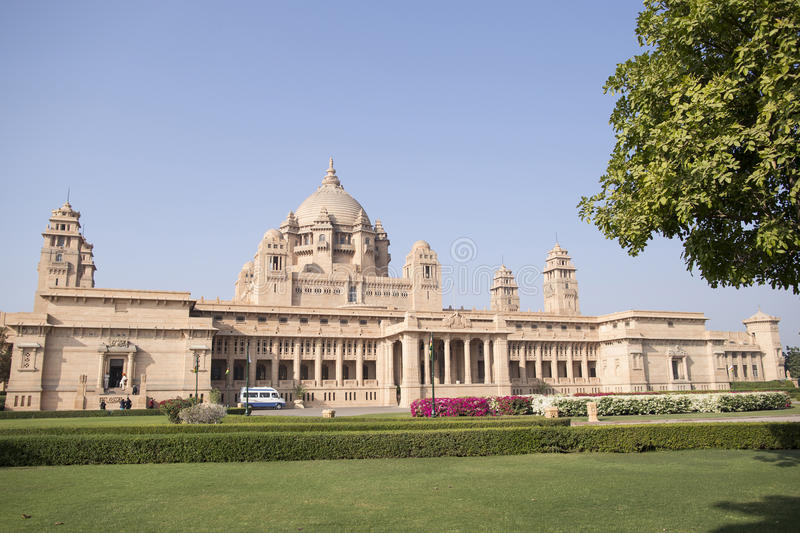 A view of the Palace hotel in Jodhpur, Rajasthan, India. royalty free stock image