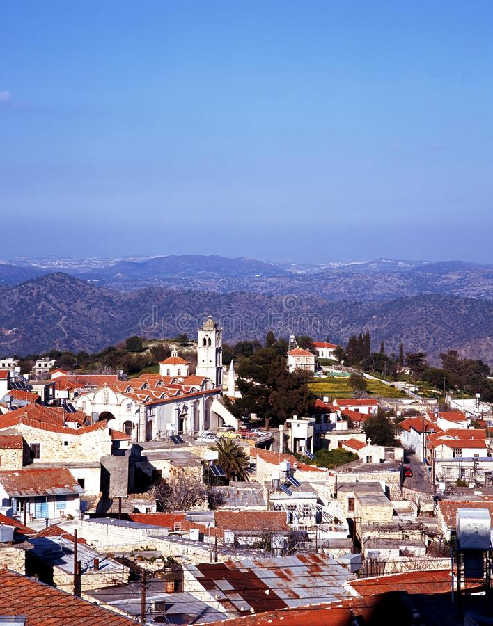 Download View Of Pano Lefkara, Cyprus. Stock Photo - Image: 24576010