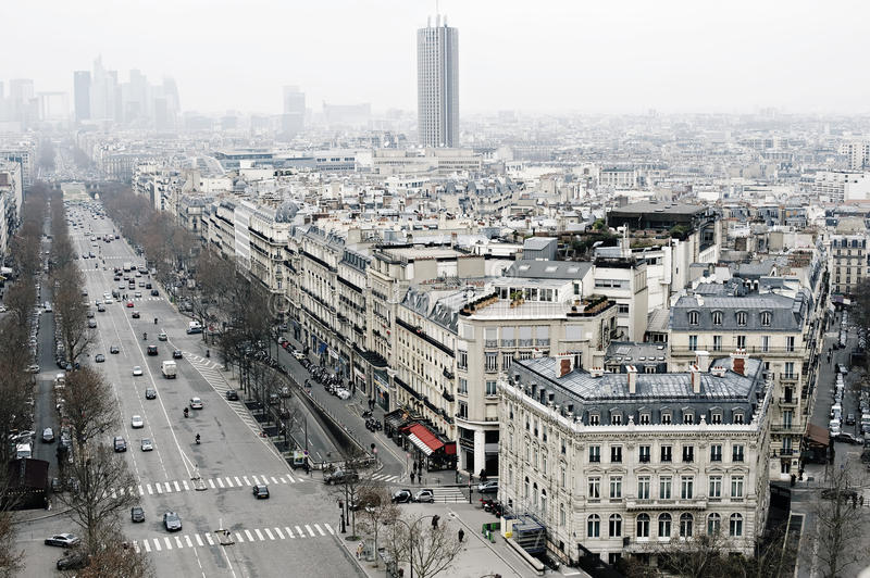 Download View On Paris, Les Champs Elysees Editorial Photography - Image: 23595977
