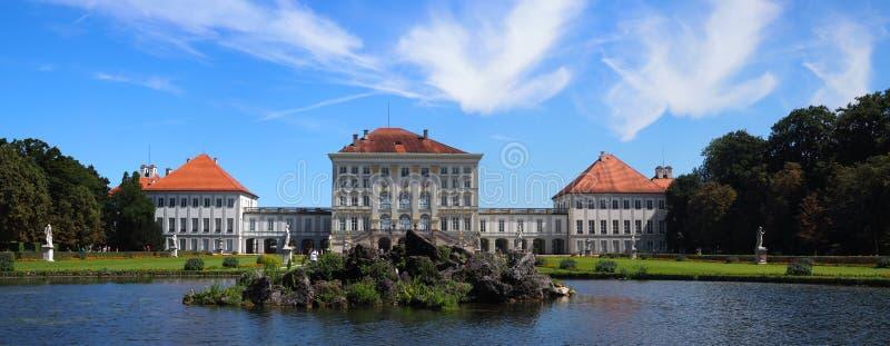 Nymphenburg Castle Munich stock image