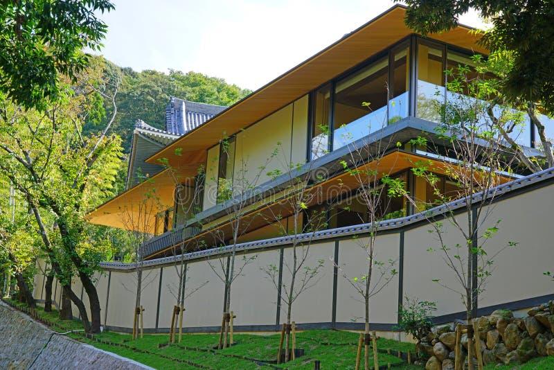 View of the Park Hyatt Kyoto hotel in Kyoto, Japan royalty-vrije stock foto