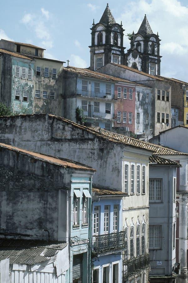 View of Pelourigno, Salvador de Bahia Brazil stock photos