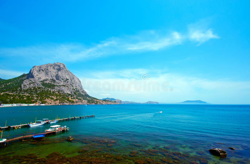 Download View Of The Picturesque Bay Stock Photo - Image: 25018148