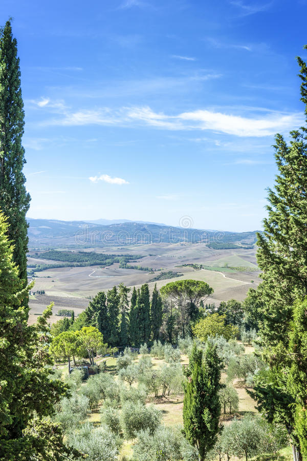 View From Pienza Royalty Free Stock Photos