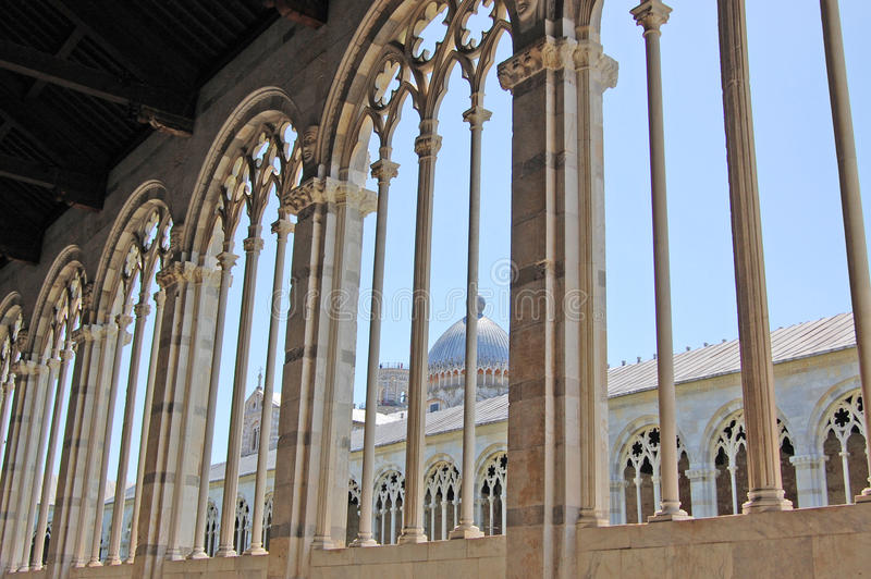View of Pisa royalty free stock photos