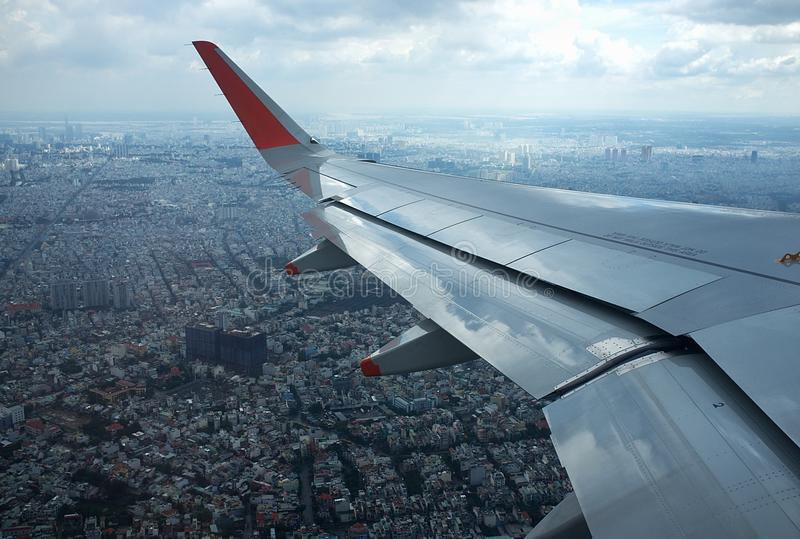 View from Plane stock photos