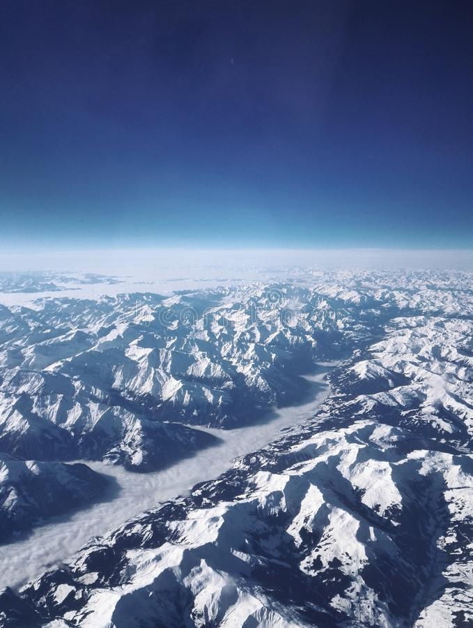 View from plane stock images