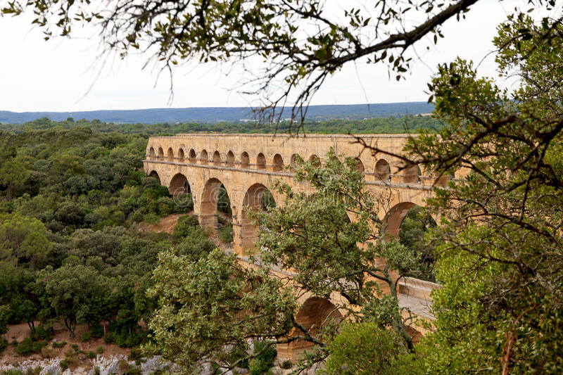 Download View Of Pont Du Gard In France Stock Photo - Image: 15530662