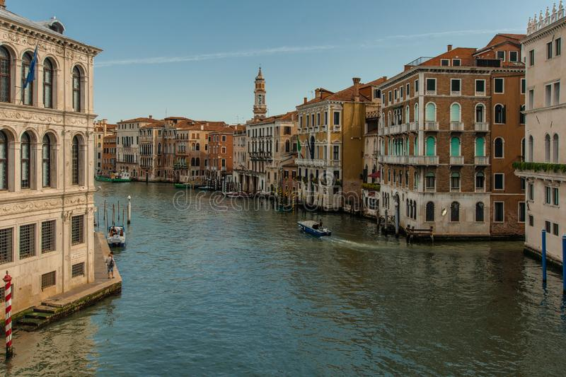 View from Ponte Rialto stock photo