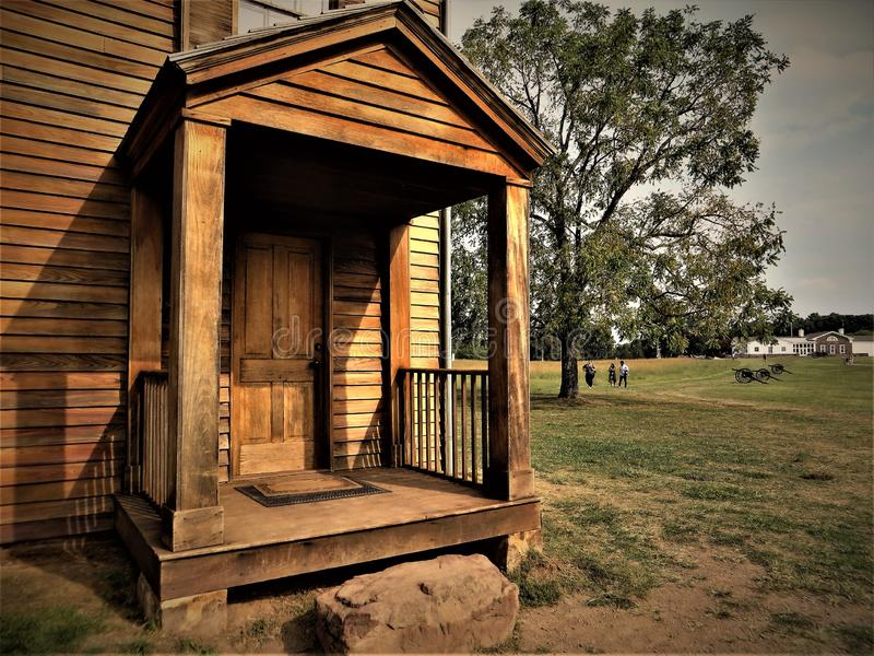 Henry House, Manassas National Battlefield Park, Virginia stock photos