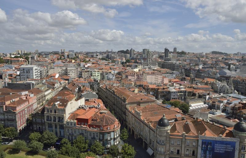 View of Porto stock photography