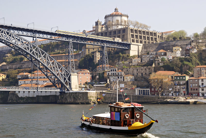 View of Porto city, Portugal. royalty free stock images