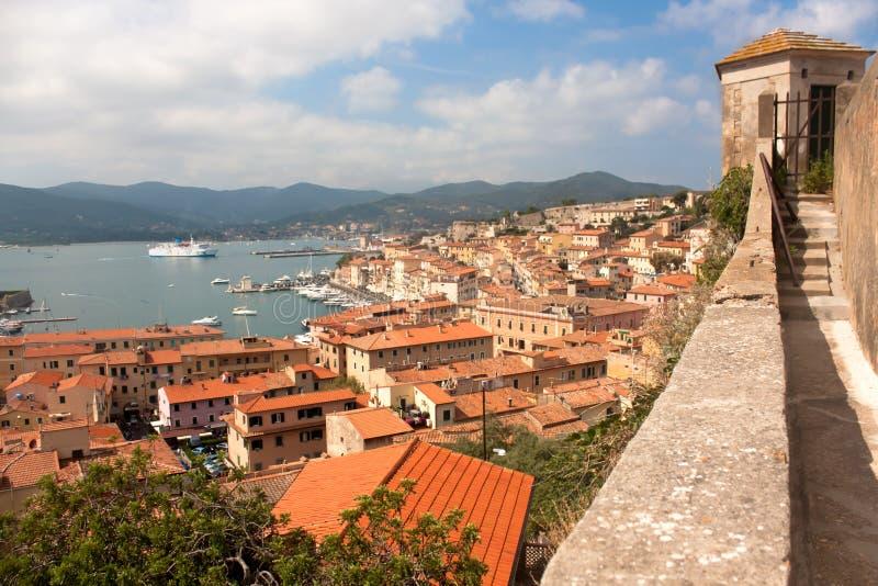 View Of Portoferraio From Forte Stella royalty free stock photo