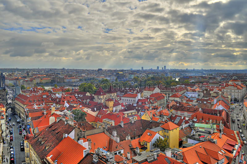 Download View of prague stock photo. Image of high, clay, attractions - 25126140