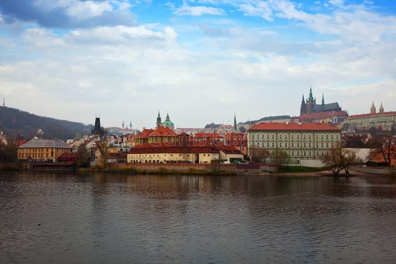 View Of Prague, Czechia Stock Photo