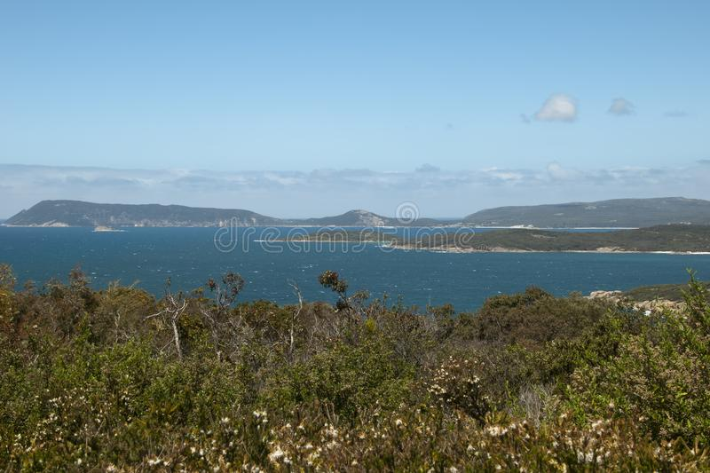 View of Princess Royal Harbour royalty free stock photography