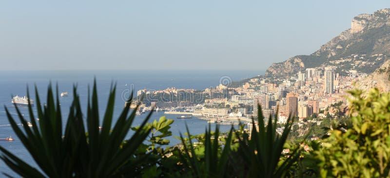 View of Principality of Monaco.  stock photography