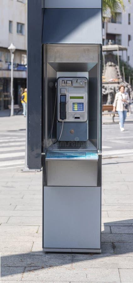 public street phone stock photos