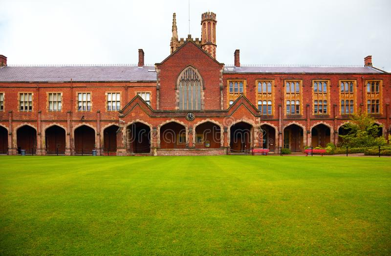 Queen`s University of Belfast royalty free stock images