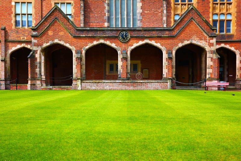 Queen`s University of Belfast stock image