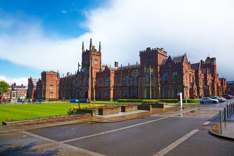 Queen`s University of Belfast royalty free stock photo