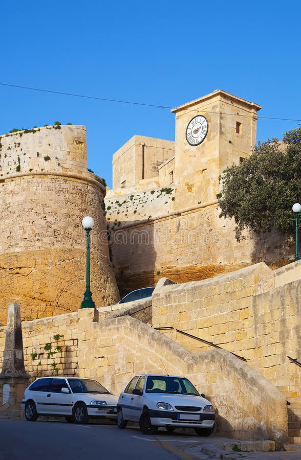Download View of Rabat stock image. Image of european, gozo, tower - 17753347
