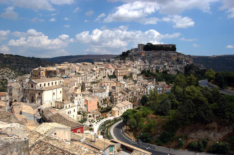 View of Ragusa royalty free stock photography