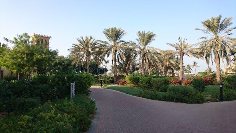 View in ras Al khaimah stock image