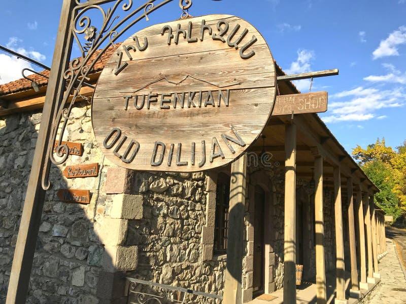 View From Old Dilijan Complex Tufenkian In Dilijan