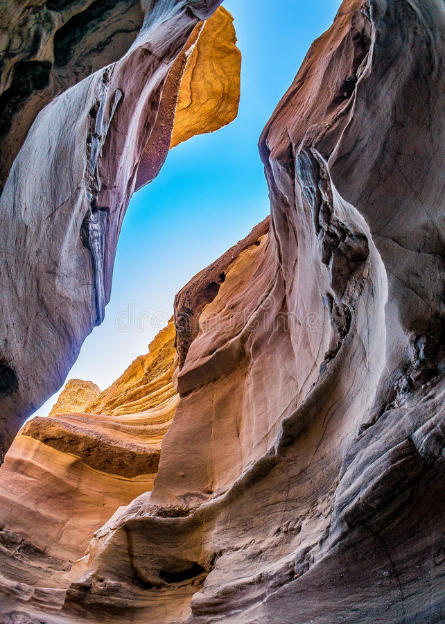 View from the Red canyon royalty free stock photo
