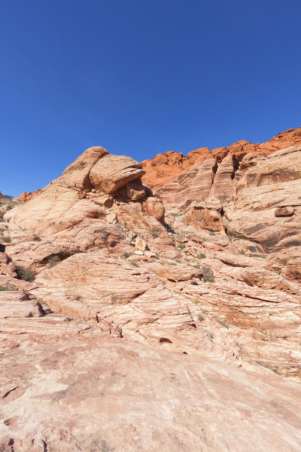 Download View Of Red Rock Canyon In The Mojave Desert. Stock Image - Image: 25093487