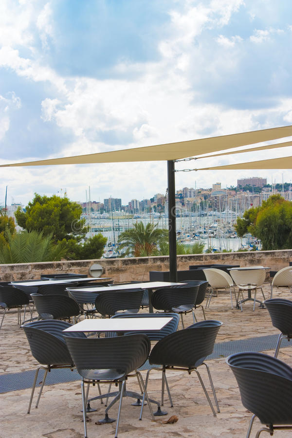 Download View From Restaurant Across Palma Stock Photo - Image: 11081182