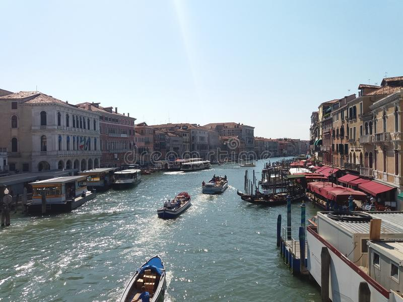 View from Rialto royalty free stock photography