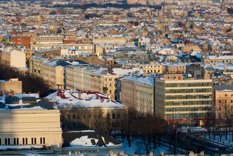 View On Riga Town Stock Photo