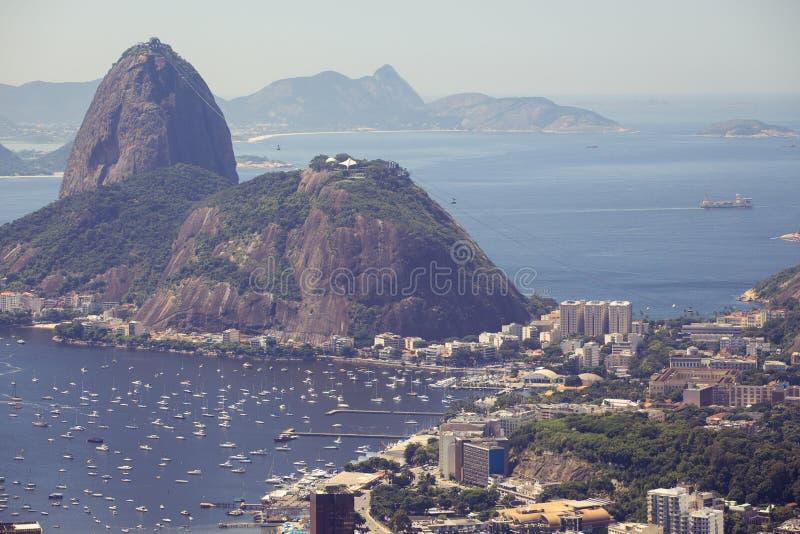 View of the Rio de Janeiro royalty free stock photos
