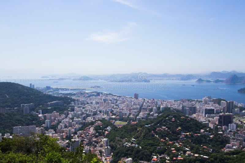 View of the Rio de Janeiro royalty free stock photo