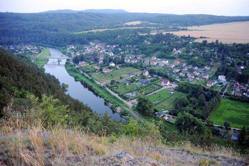 Download View of river Berounka stock photo. Image of berounka - 33198678