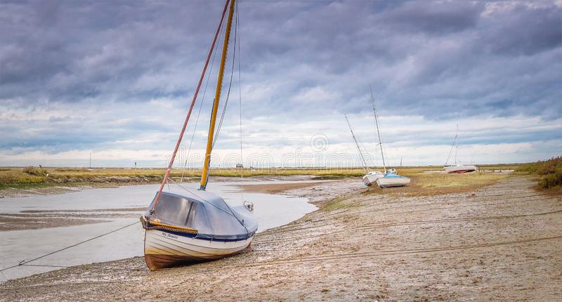 Seascape at Blakeney royalty free stock image