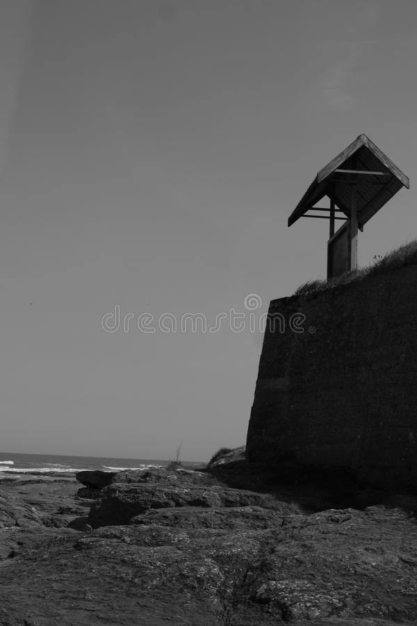 View from the rocks royalty free stock photography