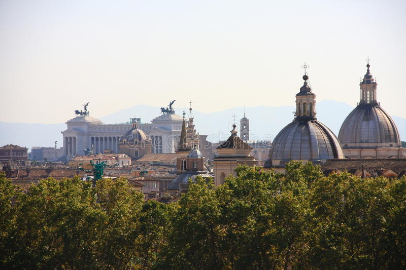 View of Rome stock image