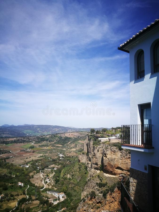 View in Ronda royalty free stock photo