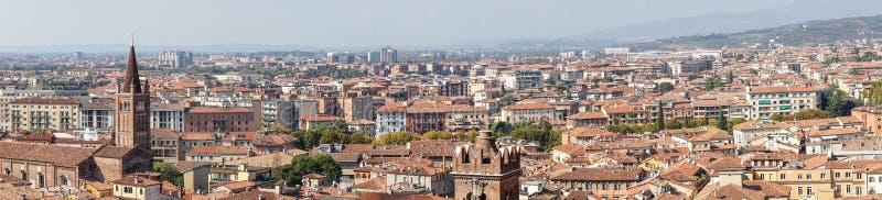 Historic cityscape of Verona royalty free stock photo